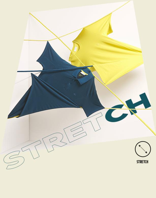 Stretch: Sehr flexibel