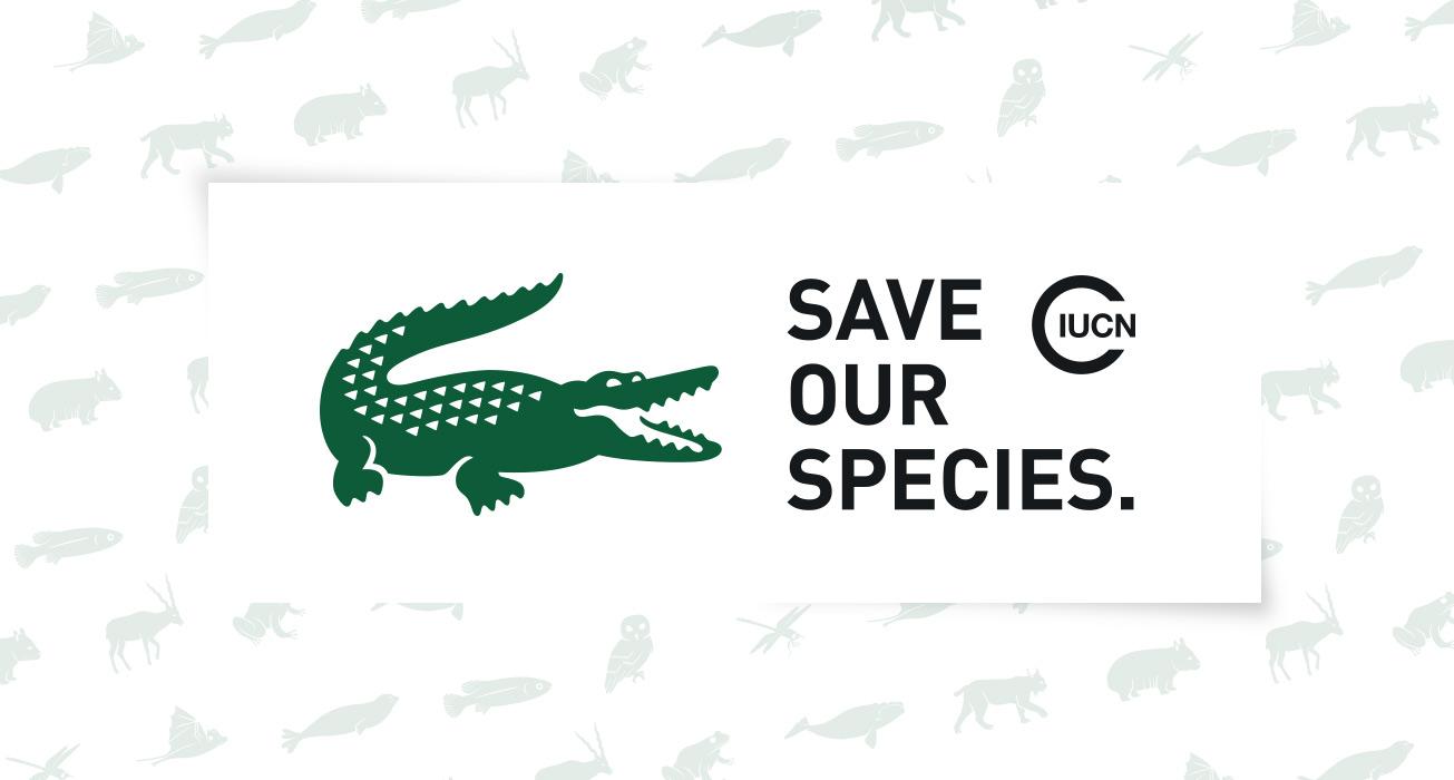 Lacoste en apoyo a la IUCN